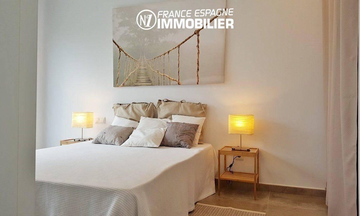 immo center rosas: villa ref.2942, première chambre avec un lit double