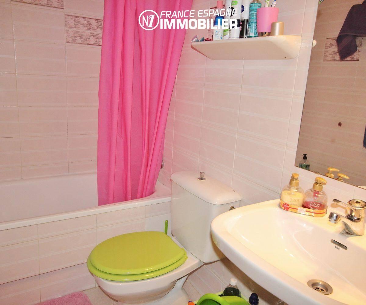 la costa brava: appartement ref.3286, salle de bains avec toilettes