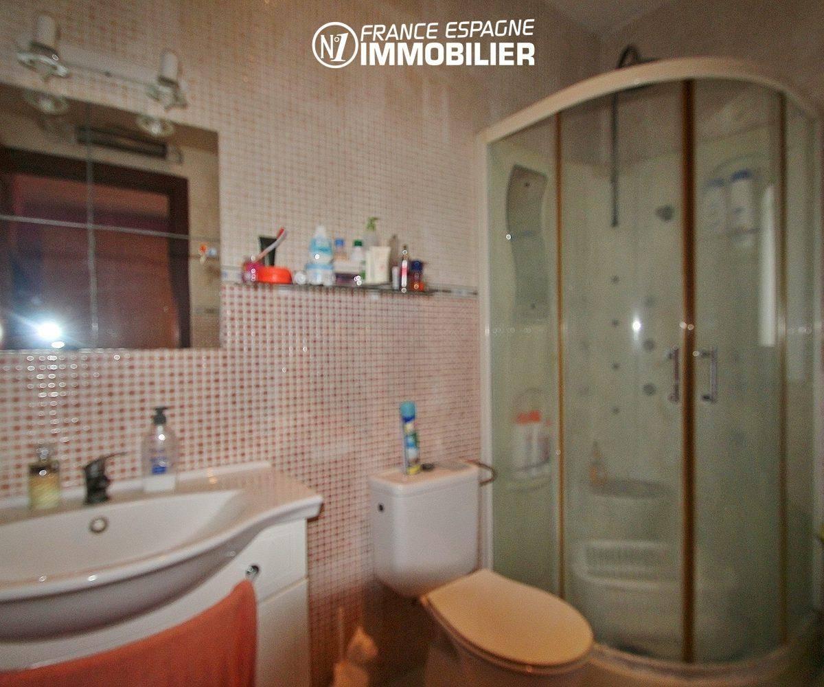 immo espagne costa brava: villa ref.3352, salle d'eau suite parentale 2