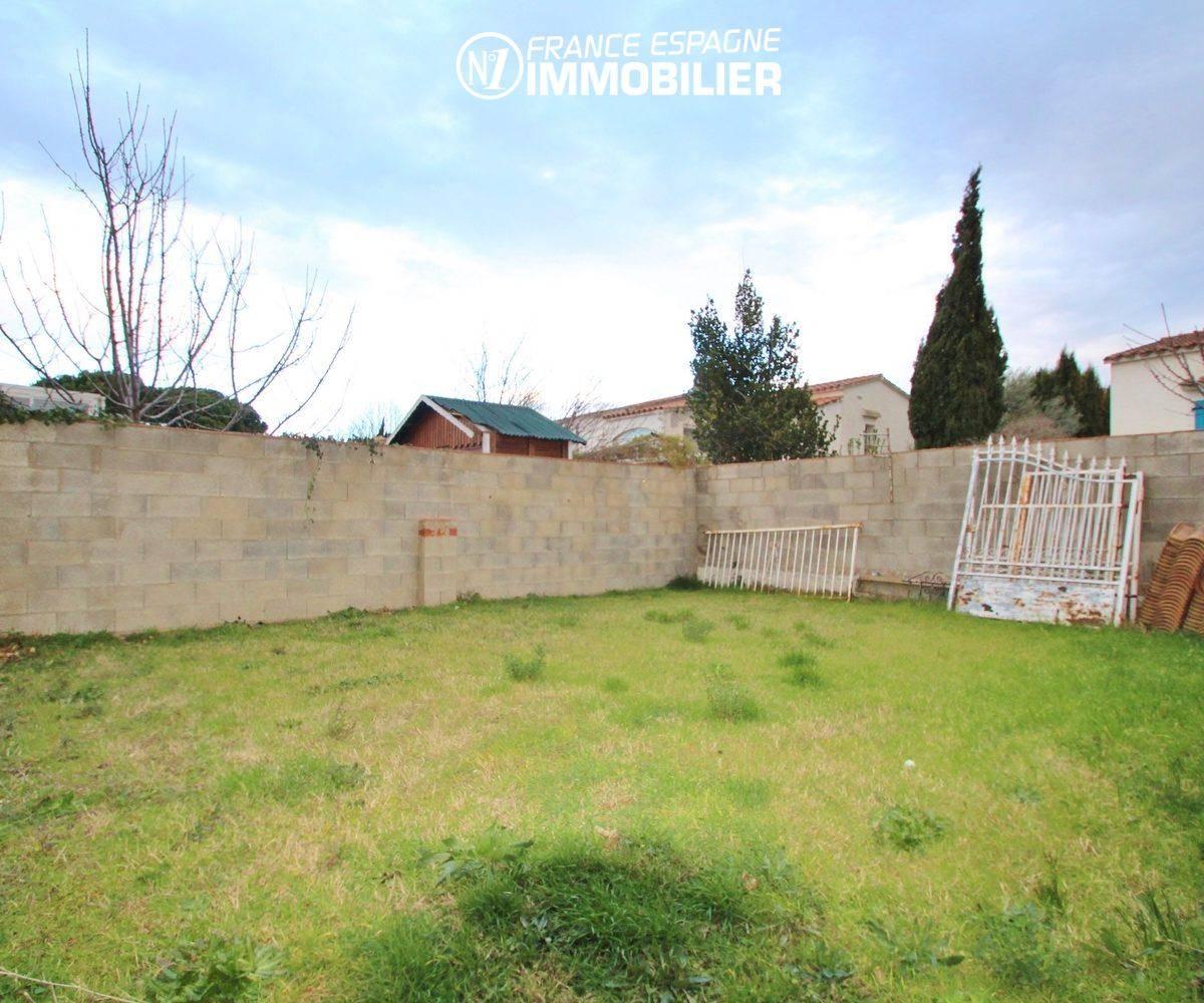 maison à vendre empuriabrava,  ref.3352, terrain derrière la villa
