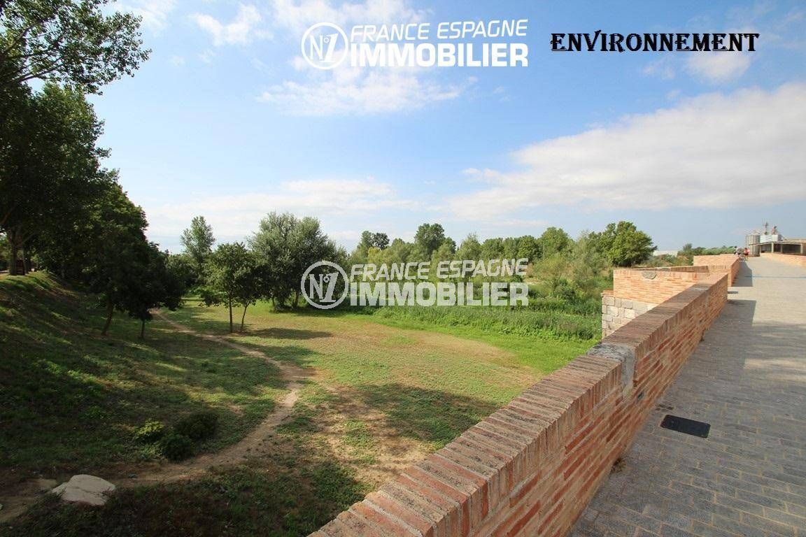 agence immobiliere empuriabrava espagne: villa ref.3352, nature environnante