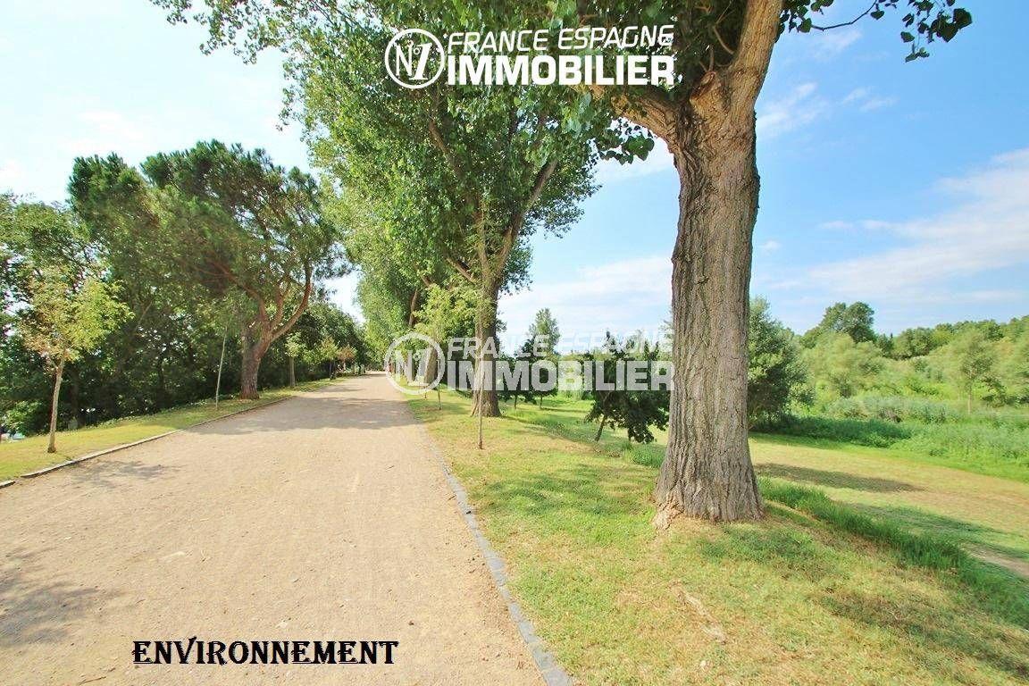 vente villa empuriabrava,  ref.3352, chemin et parc environnants