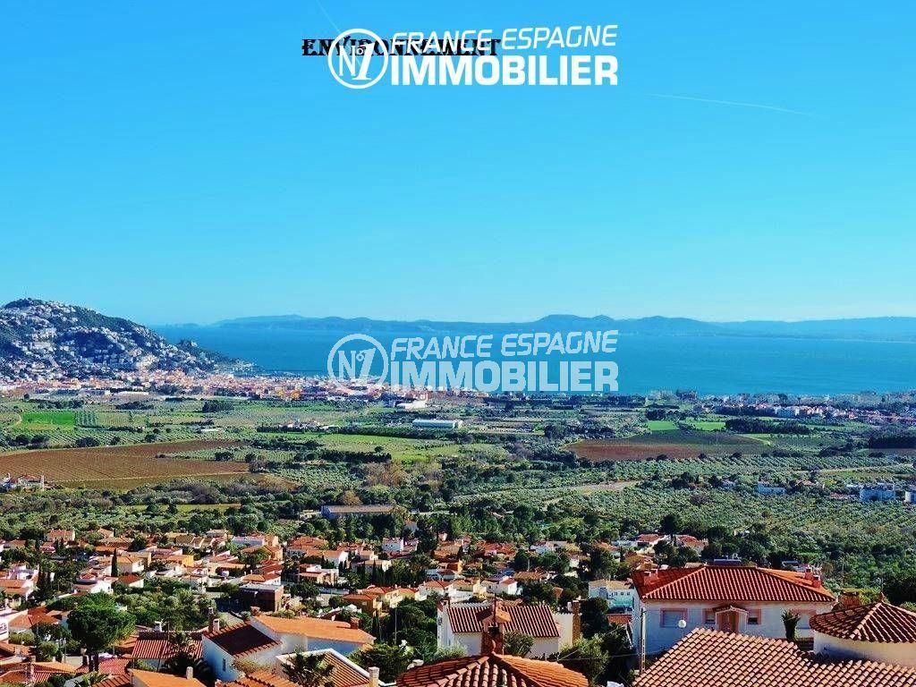 achat maison rosas espagne, ref.2942, sublime paysage entre mer et montagne aux environs