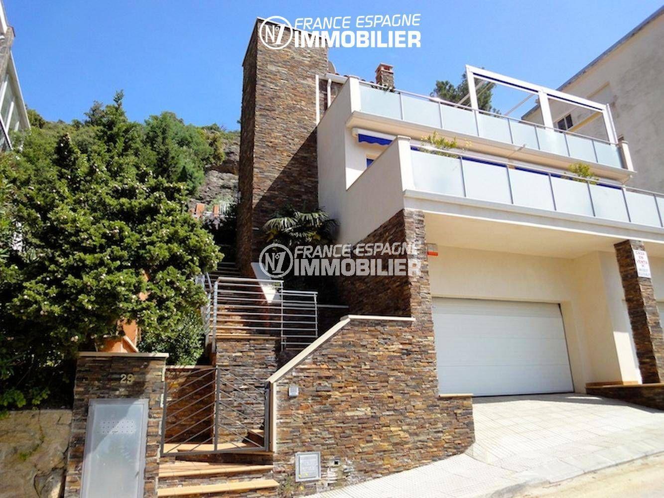 immo rosas: villa ref.1031, magnifique vue mer, piscine et grand garage