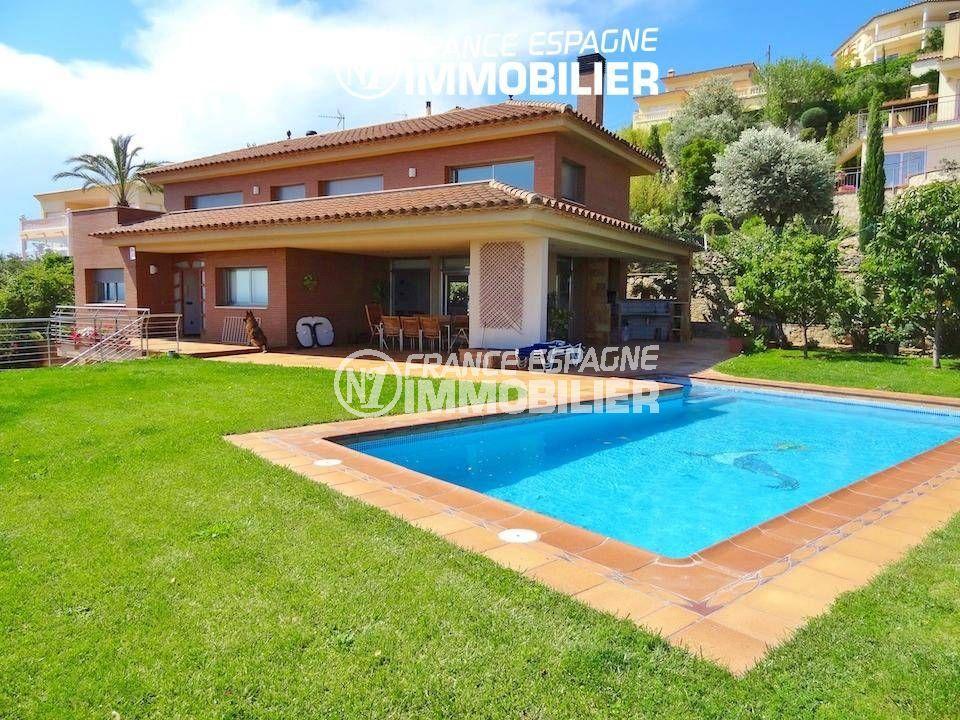 immo costa brava: villa ref.1803, pisicne 8 m x 4 m, solarium, 1000 m² de terrain