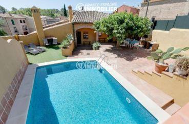 agence immobilière costa brava: villa ref.3306, piscine, terrasse barbecue, proche figueres