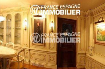 rosas immo: villa ref.2786, salle à manger avec mobilier de charme