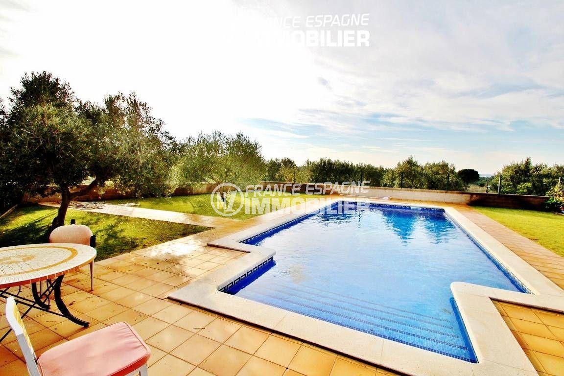maison a vendre a rosas, ref.2772, aperçu de la piscine 10.5 m x 2.5 m