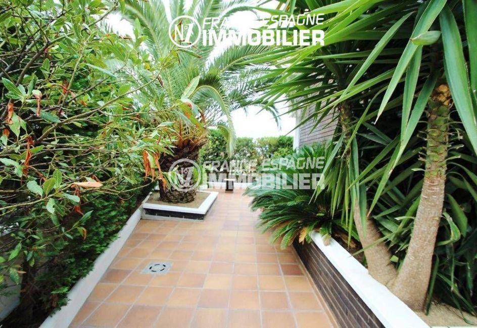 vente immobiliere rosas espagne: villa ref.1636, jardin de 450 m²