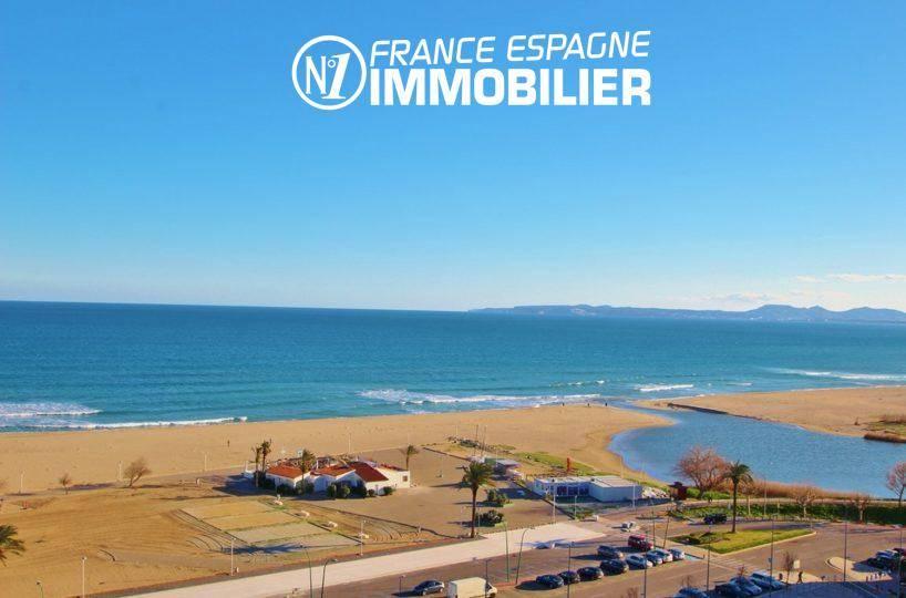 Immobilier empuriabrava: appartement proche plage, vue mer