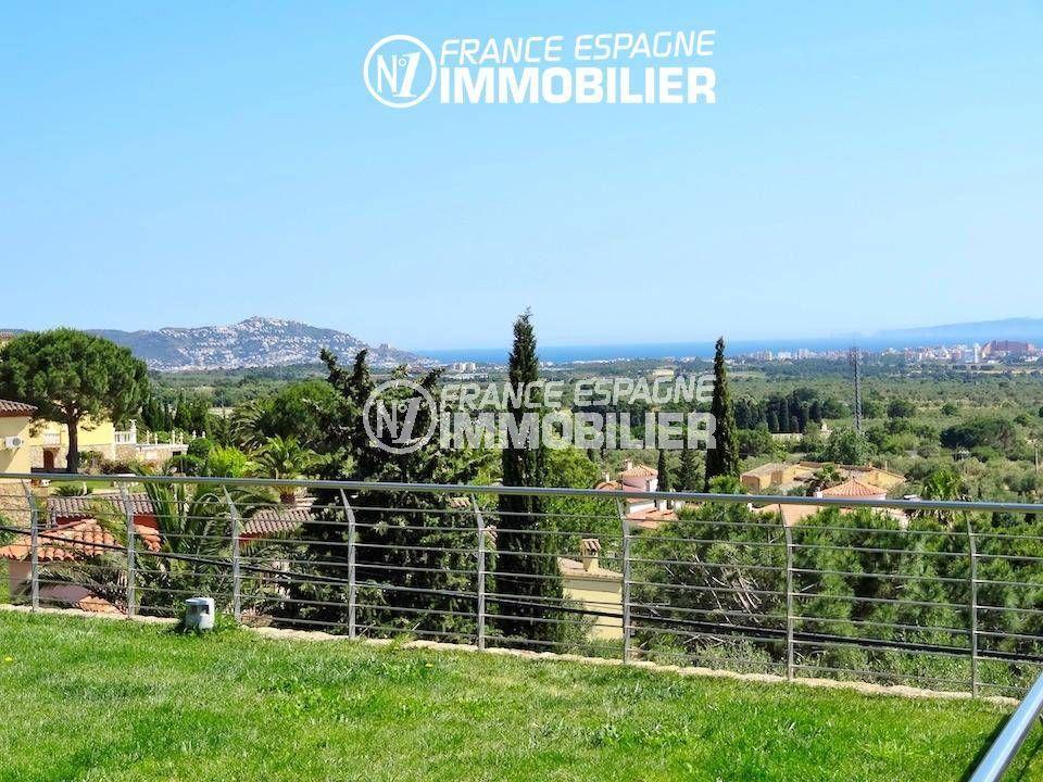 immobilier costa brava: magnifique villa ref.1803, vue mer, jardin 1000 m²