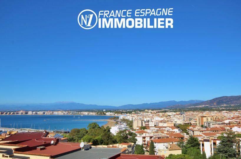 immobilier costa brava: appartement ref.3335, magnifique vue mer depuis la terrasse