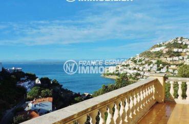 immo costa brava, splendide villa en vente à Rosas, vue mer imprenable