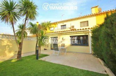 Empuriabrava - villa de charme 156 m² - vue sur la terrasse