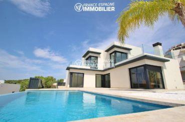 maison a vendre espagne, ref.3269, vue mer avec piscine & jacuzzi, accès direct plage 80 m