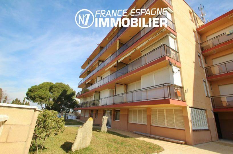 immobilier costa brava: appartement ref.3363, appartement 3 chambre en première ligne de mer