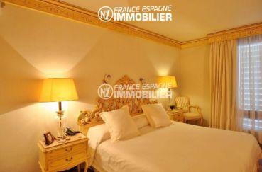 maison a vendre espagne rosas, ref.2786, chambre 2 avec un lit double