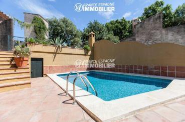 maison a vendre espagne costa brava, ref.3306, piscine sur terrain de 622 m²