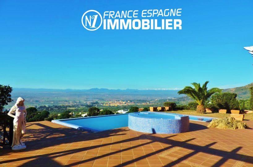 maison a vendre espagne costa brava, ref.2058, magnifique paysage depuis la terrasse
