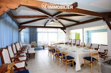 immo costa brava: villa ref.2786, salle à manger avec une grande table