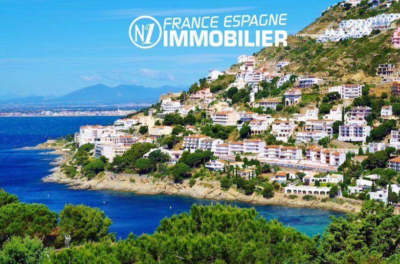 agence immobilière rosas: villa ref.1031, magnifique vue de la côte depuis la terrasse