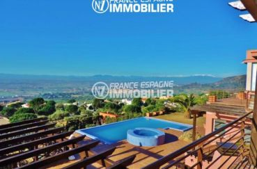 la costa brava: villa ref.2058, vue exceptionnelle depuis la chambre