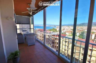 agence immobiliere rosas santa margarita: appartement ref.3335, vue terrasse / véranda 10 m²