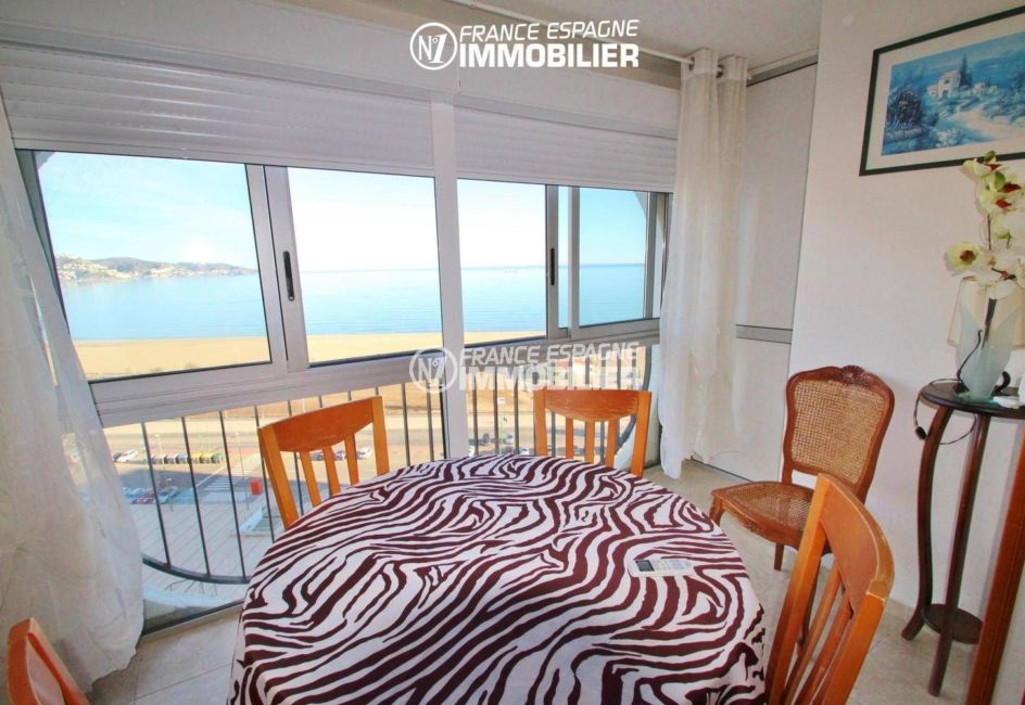 agences immobilières empuriabrava: appartement 53 m², terrasse de 10 m² avec vue mer