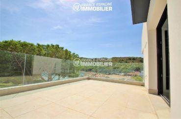 acheter maison costa brava, ref.3268, terrasse accès salon, vue sur la mer et montagnes