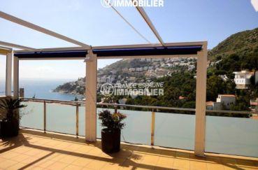 maison a vendre espagne, ref.1031, vue dégagée depuis la terrasse sur mer et montagnes