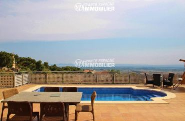 aperçu de la piscine privée 8 m x 4 m    villa ref.3203