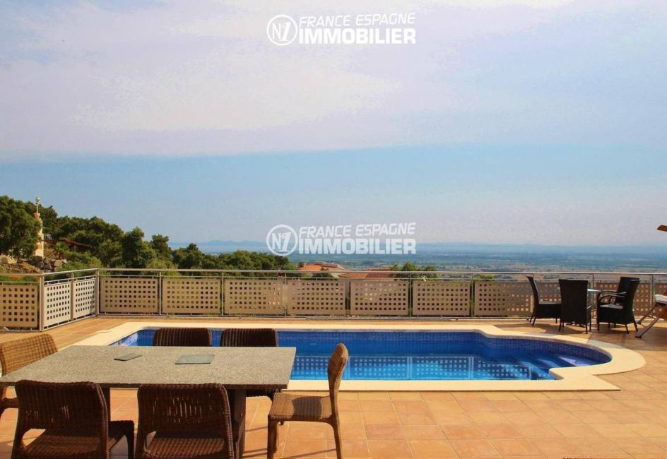 aperçu de la piscine privée 8 m x 4 m  | villa ref.3203