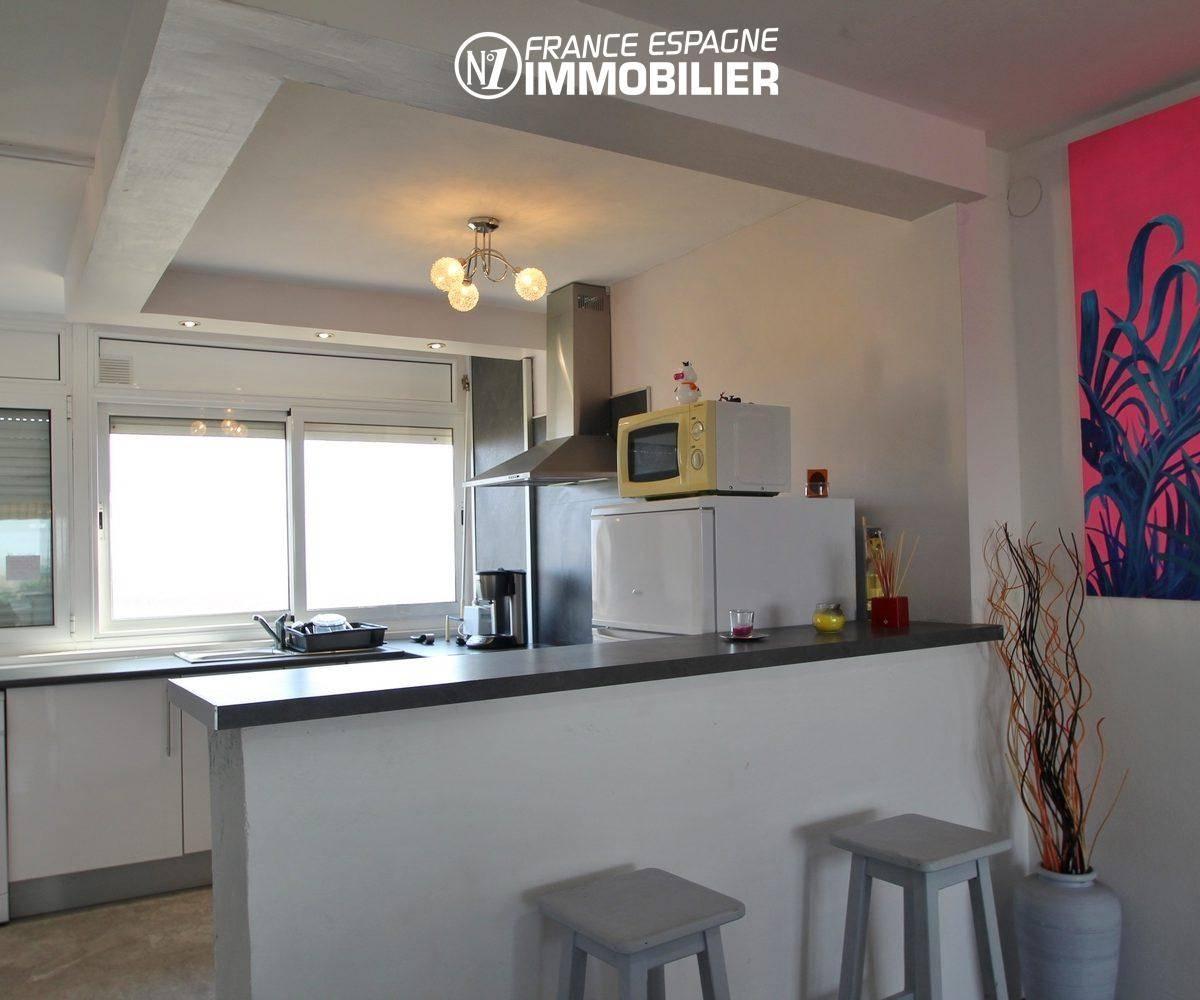 immobilier empuria brava: appartement ref.3363, cuisine américaine neuve et équipée
