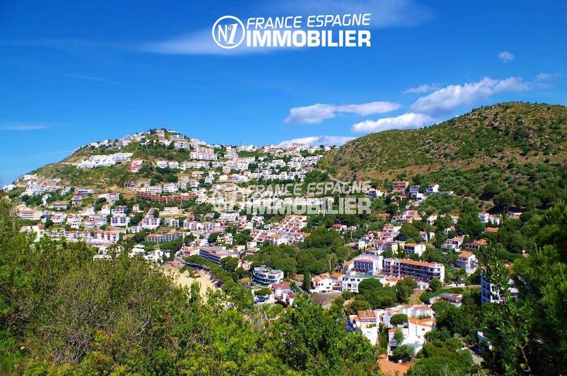 maison a vendre rosas, ref.1031, superbe vue des montagnes depuis la terrasse