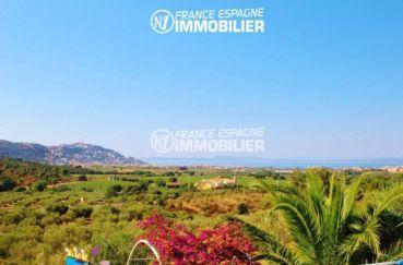 rosas immo: villa ref.2606, magnifique paysage vue de la véranda