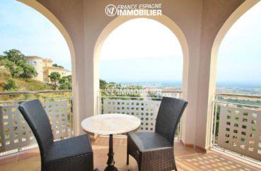 terrasse coin détente vue mer   villa ref.3203