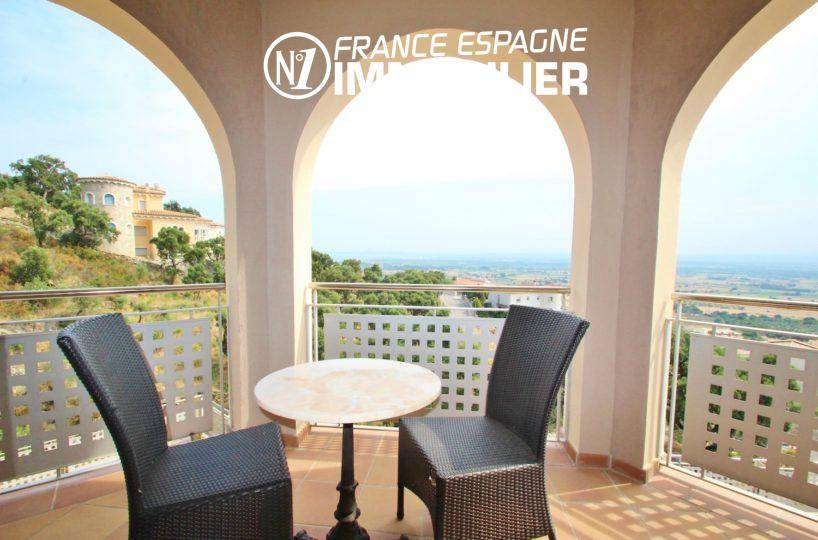 terrasse coin détente vue mer | villa ref.3203