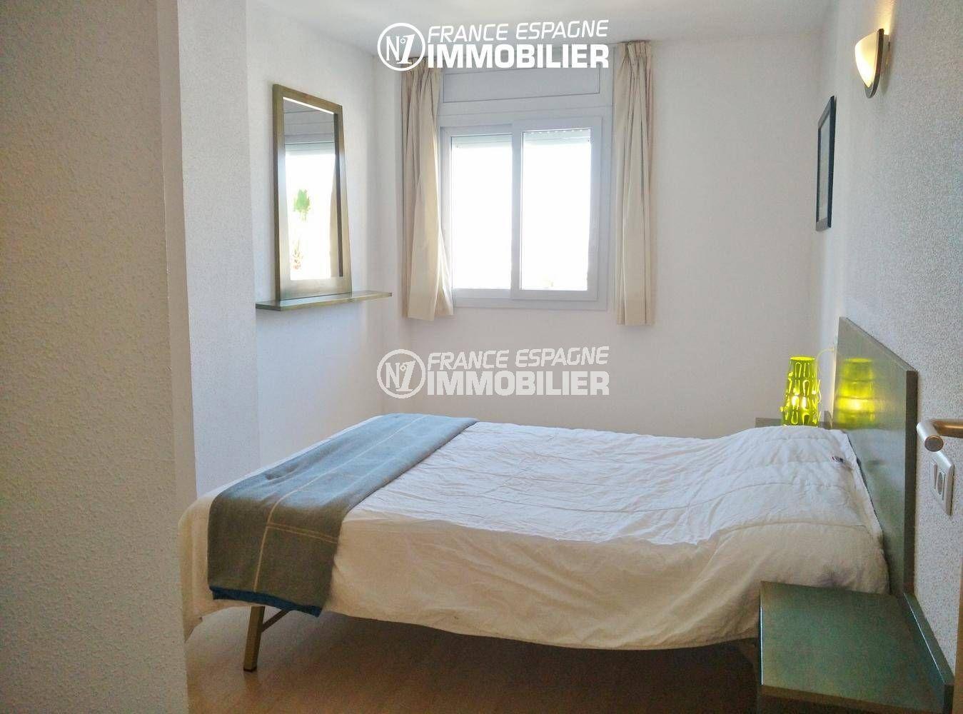 agence immobiliere rosas santa margarita: appartement ref.3301, aperçu de la première chambre (parentale)