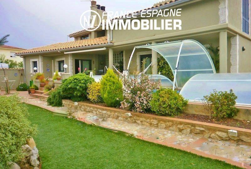 achat maison espagne costa brava, ref.1042, terrain de 737 m² avec piscine