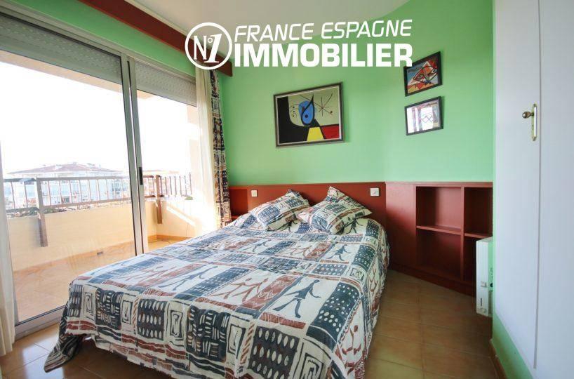 santa margarita: ref.3308, première chambre avec lit doube, placards accès terrasse