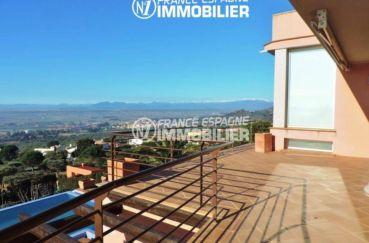 maison a vendre espagne catalogne, ref.2058, sublime vue depuis la terrasse accès salon