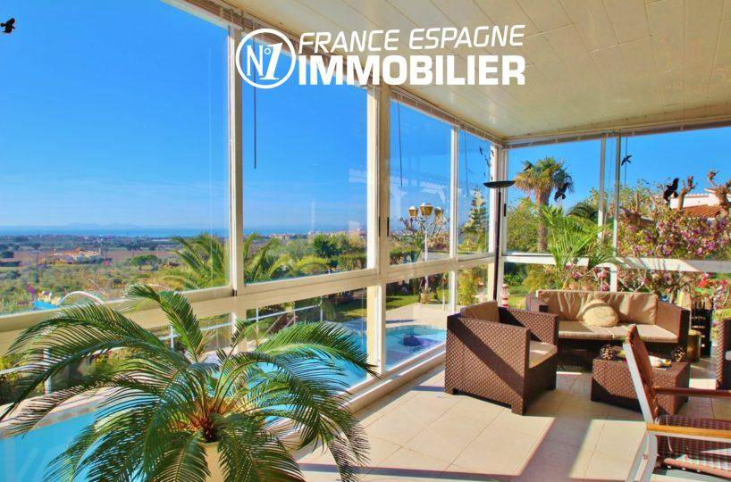 maison a vendre espagne, ref.2606, villa spacieuse de 320 m², vue mer, piscine