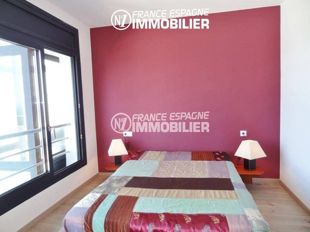 maison costa brava, ref.312, chambre 1 avec lit double + parquet au sol