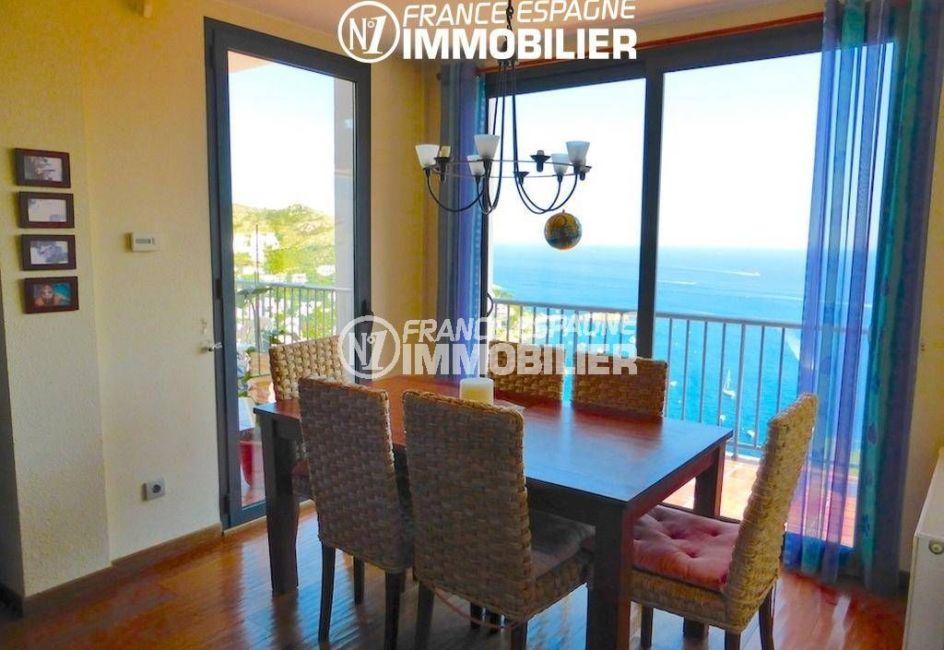 immobilier espagne bord de mer, villa Almadrava 241 m², 3 chambres, superbe vue mer