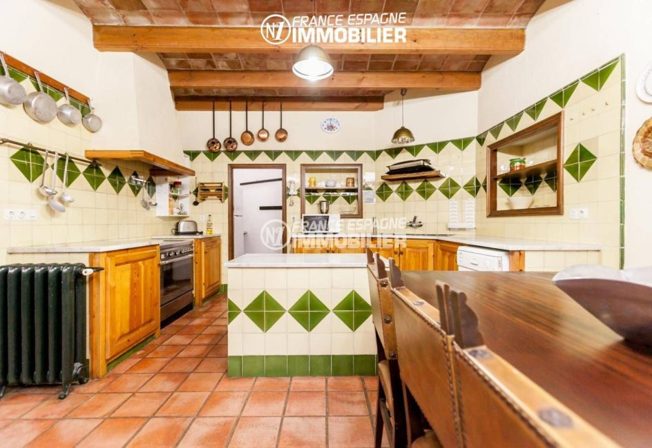 vente immobiliere costa brava: ref.3306, cuisine indépendante aménagée et fonctionnelle