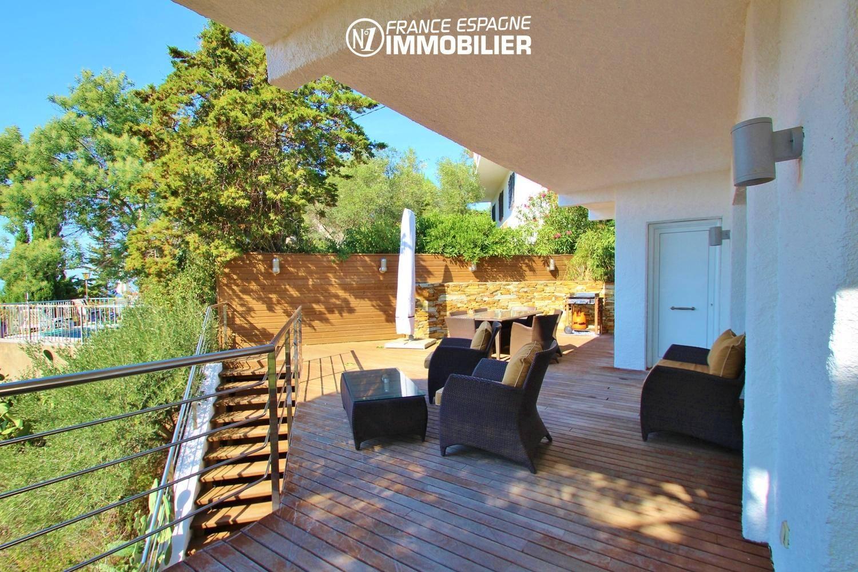 vente villa rosas vue mer n1 france espagne immobilier. Black Bedroom Furniture Sets. Home Design Ideas