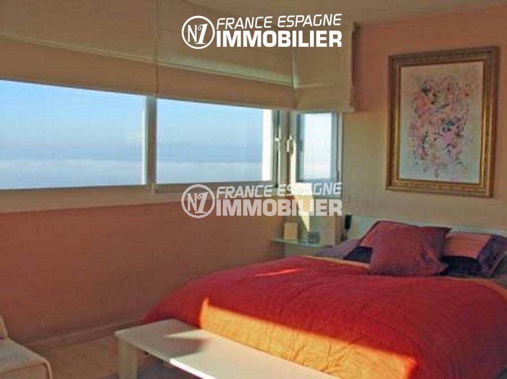 n1immobilier: villa ref.2058, première suite parentale avec lit double vue mer