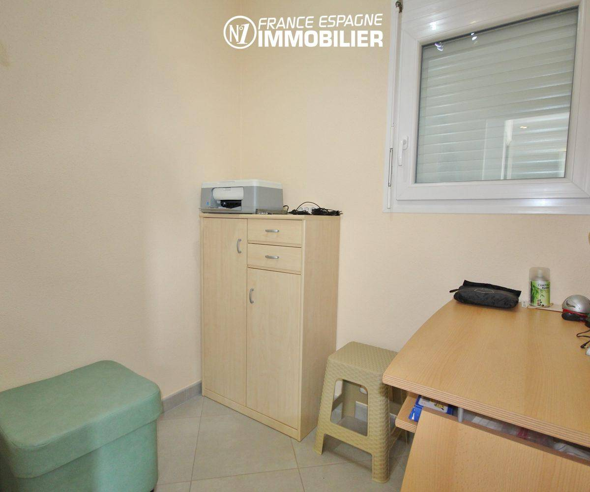 agences immobilieres empuriabrava: villa ref.911, coin bureau de la 3° chambre