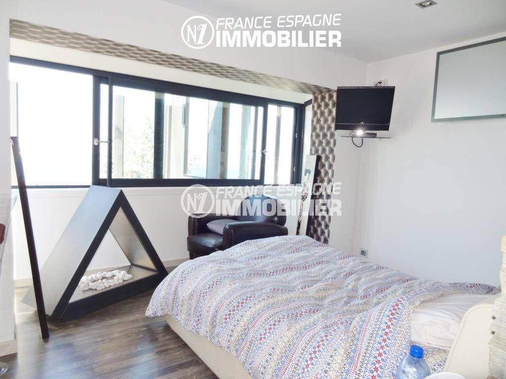 maison a vendre espagne costa brava, ref.312, chambre avec lit simple