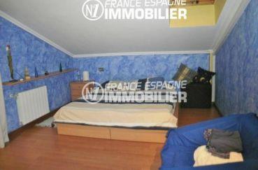 vente immobilier espagne costa brava: villa ref.1042, deuxième chambre avec un lit double